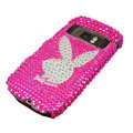 Rabbit bling crystal case for Nokia C7 - pink