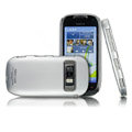IMAK Ultra-thin color cover case for Nokia C7 - Silver