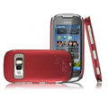 IMAK Ultra-thin color cover case for Nokia C7 - red