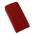 Simple Leather Case For Sony Ericsson Arc X12 lt15i - red
