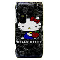 Hello Kitty color covers for Nokia E7 - black