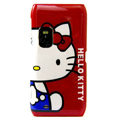Hello Kitty color covers for Nokia E7 - red