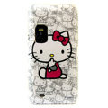 Hello Kitty color covers for Nokia E7 - white
