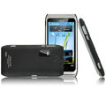 Imak Ultra-thin color covers for Nokia E7 - black