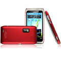 Imak Ultra-thin color covers for Nokia E7 - red
