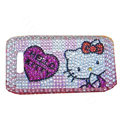 Hello Kitty bling crystal case for Nokia E71 - pink