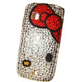 Hello Kitty bling crystal case for Nokia C5-03 - red