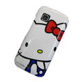 Hello Kitty color covers for Nokia C5-03 - white