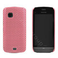 Mesh case cover for Nokia C5-03 - pink