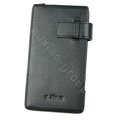 leather holster case for Samsung i997 infuse 4G - black EB001