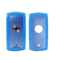 Momax silicone case for Sony Ericsson U5i Vivaz - blue