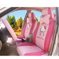 hello kitty 18 pcs full sets Car Seat Covers Kits - pink