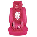 hello kitty 18 pcs full sets Car Seat Covers Kits - rose