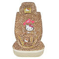 Hello Kitty Sexy leopard universal Car Seat Covers sets - red