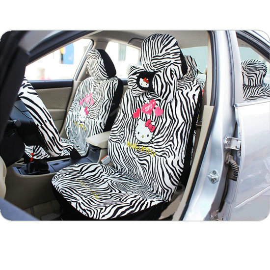 Buy Wholesale Hello Kitty Zebra Universal Car Seat Covers