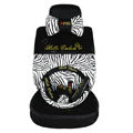 hello kitty Zebra universal Car Seat Covers sets - black