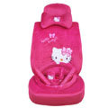 Hello Kitty universal Car Seat Covers sets - rose EB005