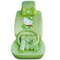 Hello Kitty universal Car Seat Covers sets - green EB017