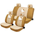 Hello Kitty Auto Car Seat Covers sets - brown EB014