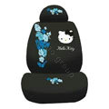 Hello Kitty Bud silk Car Seat Covers sets - black