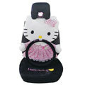Hello Kitty Universal Car Seat Covers sets 12 pieces - black