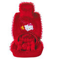 OULILAI Hello Kitty Bud silk Car Seat Covers sets - red