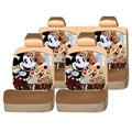 Mickey Mouse universal Car Seat Covers sets - brown