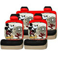 Mickey Mouse universal Car Seat Covers sets - red EB002