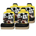 Mickey Mouse universal Car Seat Covers sets - yellow