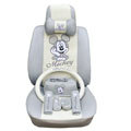 Mickey Mouse ice silk Car Seat Covers sets - gray