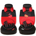 Mickey Mouse universal Car Seat Covers sets - red EB007
