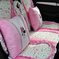 Mickey Mouse universal Car Seat Covers sets - red EB013