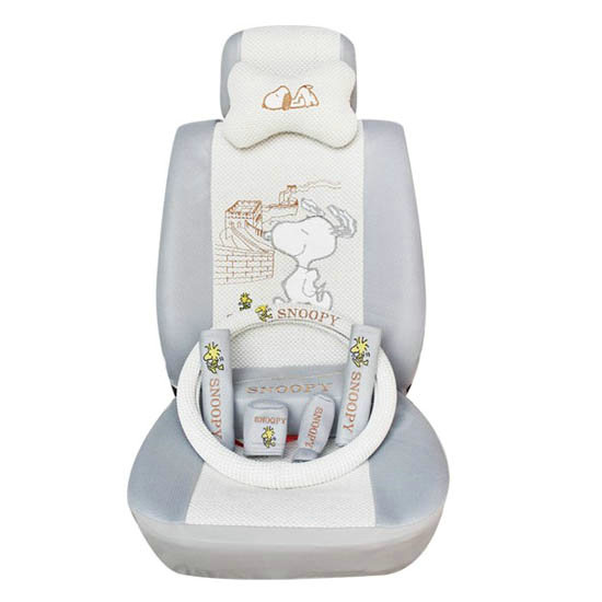 Buy Wholesale Snoopy Ice Silk Universal Car Seat Covers
