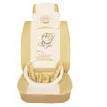 Doraemon ice silk universal Car Seat Covers sets - beige