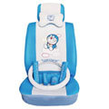 Doraemon ice silk universal Car Seat Covers sets - blue EB001