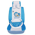 Doraemon ice silk universal Car Seat Covers sets - blue