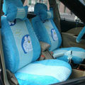 Doraemon plush universal Car Seat Covers sets - blue EB004
