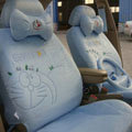 Doraemon plush universal Car Seat Covers sets - blue