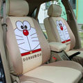 Doraemon universal Car Seat Covers sets - brown