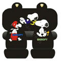 Snoopy universal Car Seat Covers sets - black EB003