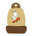Snoopy universal Car Seat Covers sets - brown EB004