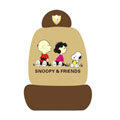 Snoopy universal Car Seat Covers sets - brown EB007