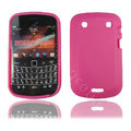 TPU silicone cases covers for Blackberry 9900 - rose