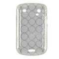 TPU silicone cases covers for Blackberry Bold Touch 9900 - white