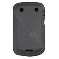 scrub silicone cases covers for Blackberry Bold Touch 9900 - black