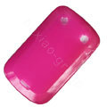 scrub silicone cases covers for Blackberry Bold Touch 9900 - rose
