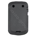 scrub silicone cases covers for Blackberry Bold Touch 9930 - black