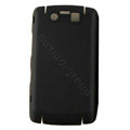 Matte Hard back cases covers for BlackBerry 9530 - black