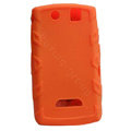 TPU silicone cases covers for BlackBerry 9530 - orange