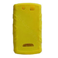 TPU silicone cases covers for BlackBerry 9530 - yellow